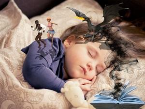 dans son sommeil un enfant peut faire des rêves ou des cauchemards