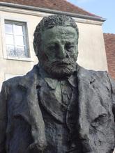 Buste de la statue de Victor Hugo à Besançon faite par Ousmane Sow