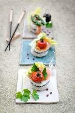 sushis produits alimentaires hygiène à risque