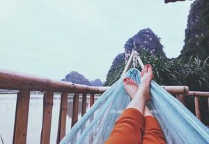 profiter de ses pieds soignés et se relaxer dans un hamac