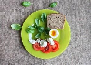 assiette de produits frais sans nutri-score